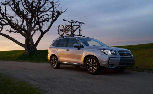 2018 Subaru Forester front
