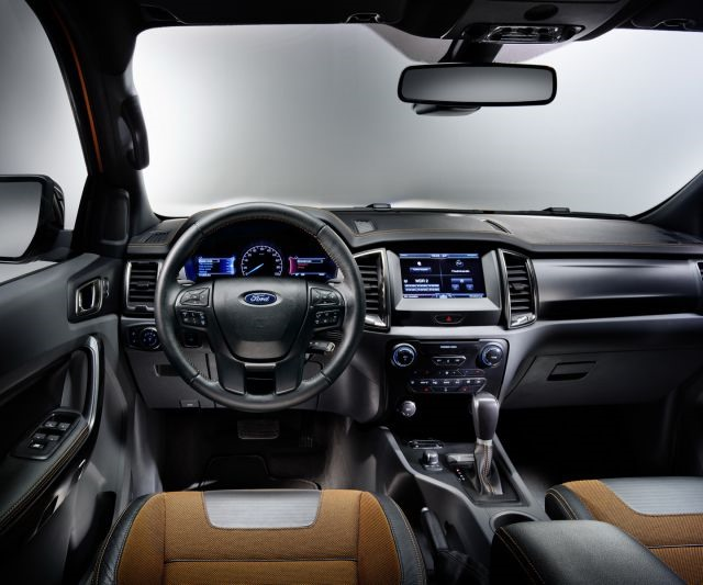2018 Ford Ranger - interior