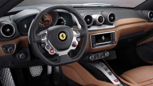 2019 Ferrari California interior