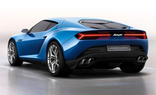 2019 Lamborghini Asterion rear