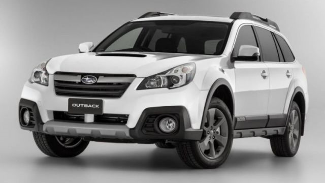 2018 Subaru Outback - front