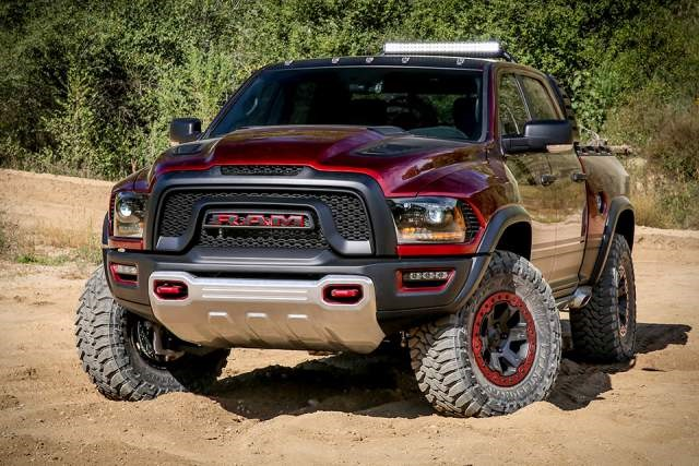 Dodge Ram Rebel TRX Concept front