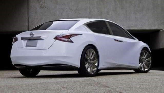 2018 Nissan Altima - rear