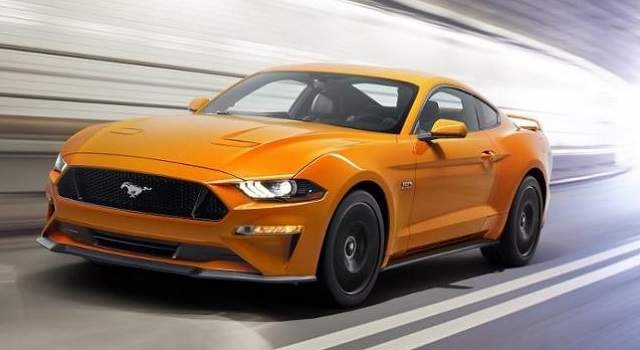 2018 Ford Mustang - front
