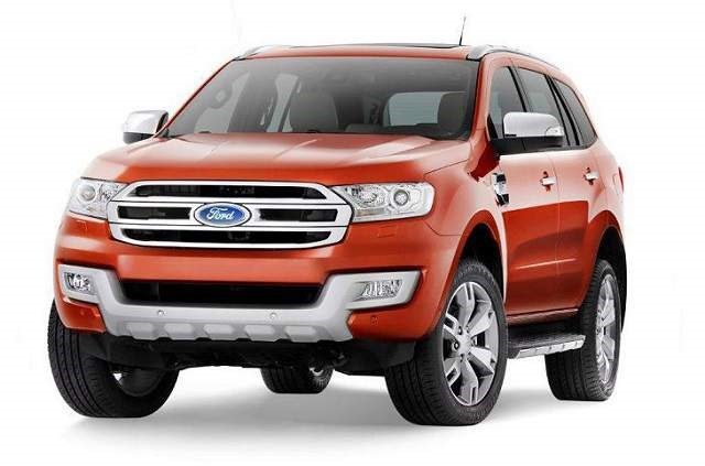 2018 Ford Everest - front