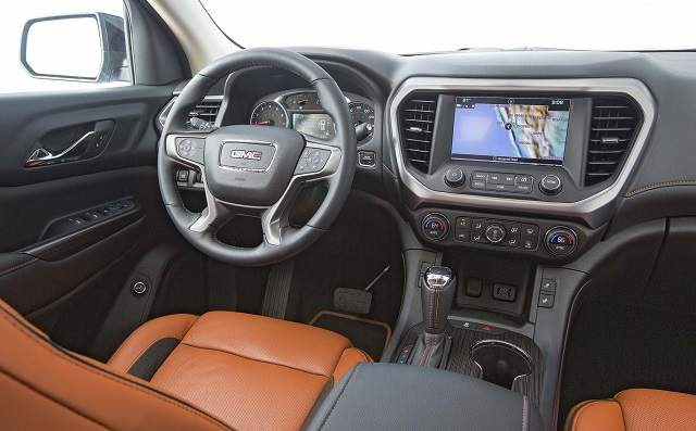 2018 GMC Acadia All Terrain - interior