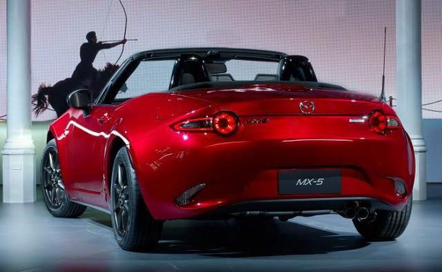 2018 Mazda MX-5 Miata- rear