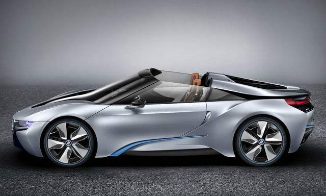 2018 BMW i8 Roadster - side