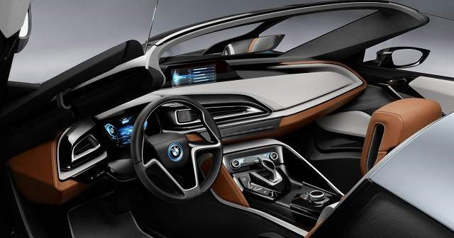 2018 BMW i8 Roadster - interior