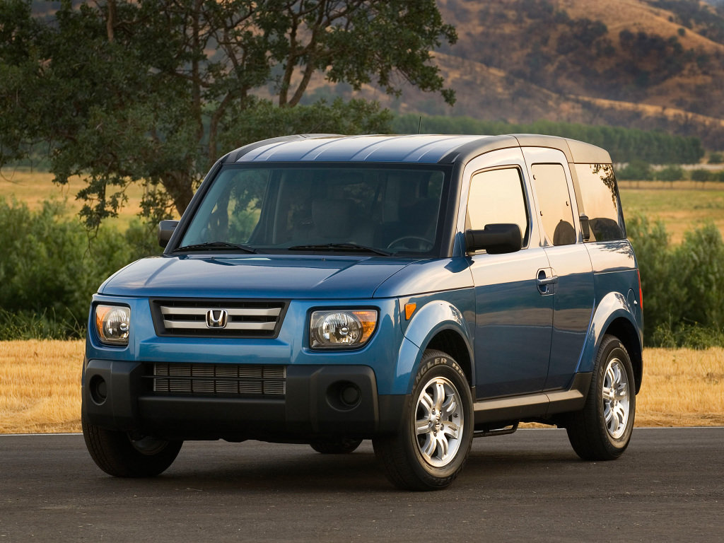 Honda Element Comes with the new Body Line