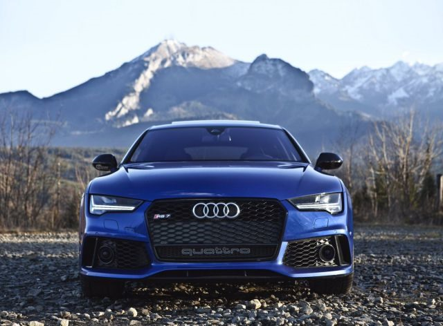2018 Audi RS7 front
