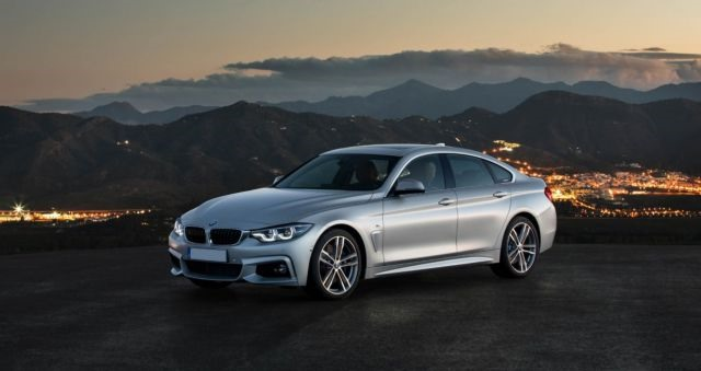 2018 BMW 4-Series front