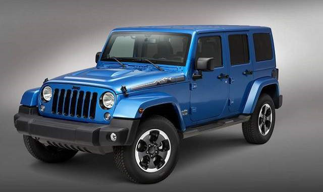 2018 Jeep Wrangler Unlimited - front