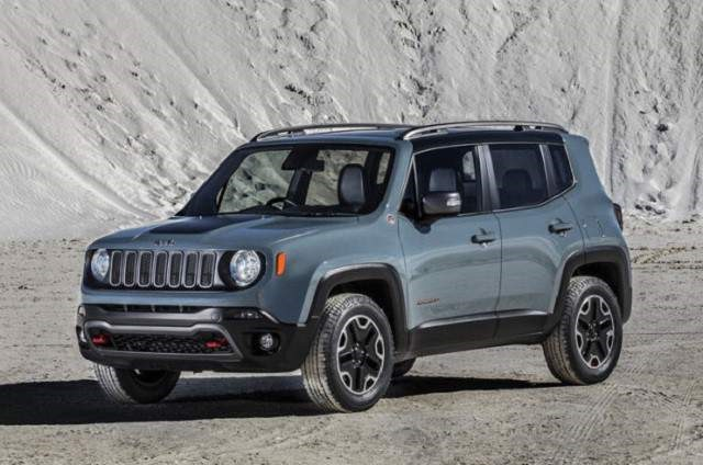 2018 Jeep Renegade - front