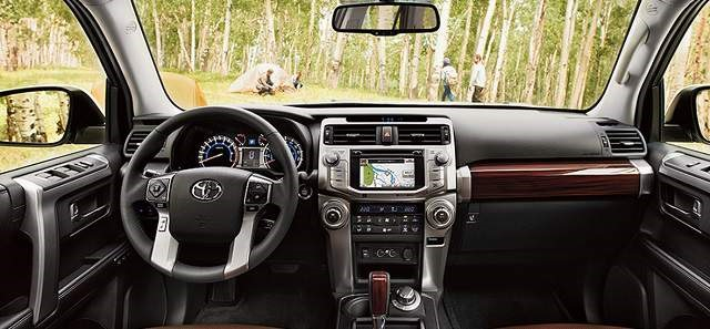 2019 Toyota 4Runner - interior
