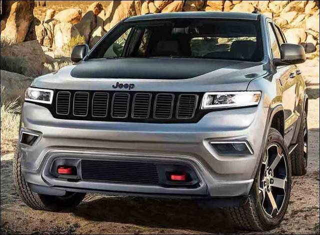 2019 Jeep Grand Cherokee - front