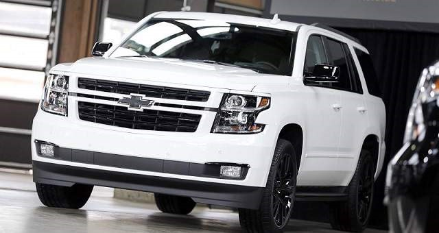 2019 Chevy Suburban - front