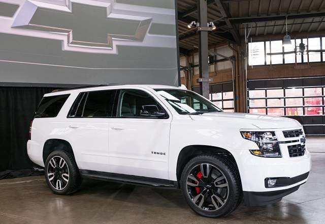 2019 Chevy Tahoe - front