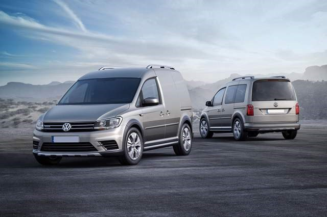 2019 VW Caddy - front