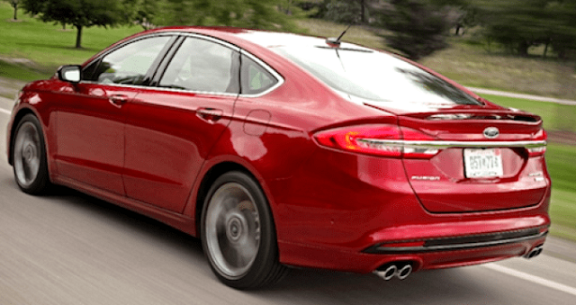 2019 Ford Fusion - rear