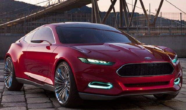 2019 Ford Fusion - front