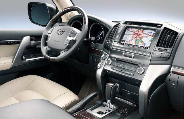 2019 Toyota Land Cruiser - interior