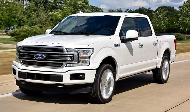 2019 Ford F-150 - front