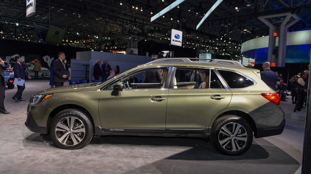 2019 Subaru Outback - side
