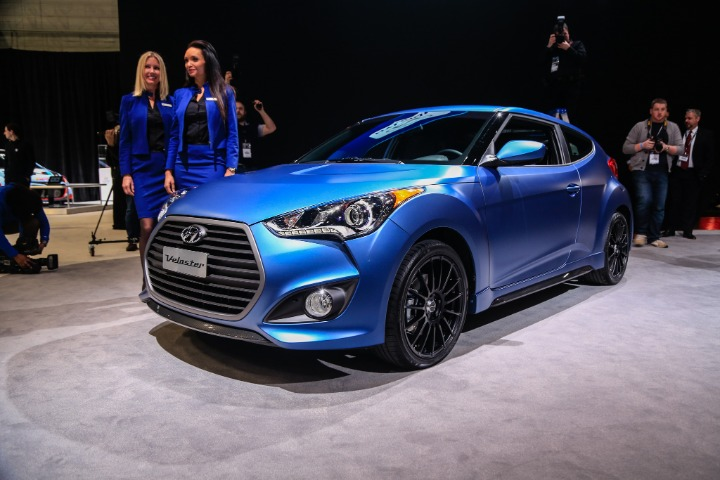 Hyundai Veloster Turbo, Rally, Colors